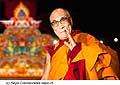12619 - Photo: Tenzin Gyatso, le dalaï-lama, le plus haut chef spirituel du Tibet à Lausanne en Suisse