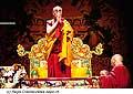 12620 - Photo: Tenzin Gyatso, le dalaï-lama, le plus haut chef spirituel du Tibet à Lausanne en Suisse