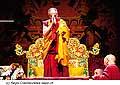 12621 - Photo: Tenzin Gyatso, le dalaï-lama, le plus haut chef spirituel du Tibet à Lausanne en Suisse