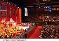 12622 - Photo: Tenzin Gyatso, le dalaï-lama, le plus haut chef spirituel du Tibet à Lausanne en Suisse