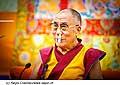 12625 - Photo: Tenzin Gyatso, le dalaï-lama, le plus haut chef spirituel du Tibet à Lausanne en Suisse