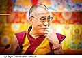 12626 - Photo: Tenzin Gyatso, le dalaï-lama, le plus haut chef spirituel du Tibet à Lausanne en Suisse