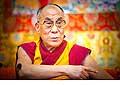 12627 - Photo: Tenzin Gyatso, le dalaï-lama, le plus haut chef spirituel du Tibet à Lausanne en Suisse