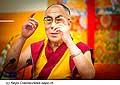 12630 - Photo: Tenzin Gyatso, le dalaï-lama, le plus haut chef spirituel du Tibet à Lausanne en Suisse
