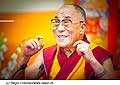 12632 - Photo: Tenzin Gyatso, le dalaï-lama, le plus haut chef spirituel du Tibet à Lausanne en Suisse
