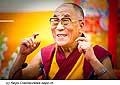 12633 - Photo: Tenzin Gyatso, le dalaï-lama, le plus haut chef spirituel du Tibet à Lausanne en Suisse