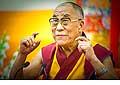 12634 - Photo: Tenzin Gyatso, le dalaï-lama, le plus haut chef spirituel du Tibet à Lausanne en Suisse
