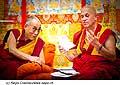 12636 - Photo: Tenzin Gyatso, le dalaï-lama, le plus haut chef spirituel du Tibet à Lausanne en Suisse