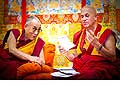12637 - Photo: Tenzin Gyatso, le dalaï-lama, le plus haut chef spirituel du Tibet à Lausanne en Suisse