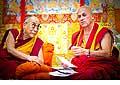 12638 - Photo: Tenzin Gyatso, le dalaï-lama, le plus haut chef spirituel du Tibet à Lausanne en Suisse
