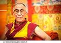 12639 - Photo: Tenzin Gyatso, le dalaï-lama, le plus haut chef spirituel du Tibet à Lausanne en Suisse