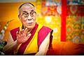 12640 - Photo: Tenzin Gyatso, le dalaï-lama, le plus haut chef spirituel du Tibet à Lausanne en Suisse