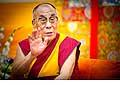 12641 - Photo: Tenzin Gyatso, le dalaï-lama, le plus haut chef spirituel du Tibet à Lausanne en Suisse