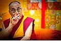 12642 - Photo: Tenzin Gyatso, le dalaï-lama, le plus haut chef spirituel du Tibet à Lausanne en Suisse