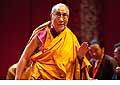 12653 - Photo: Tenzin Gyatso, le dalaï-lama, le plus haut chef spirituel du Tibet à Lausanne en Suisse