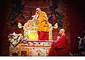 12654 - Photo: Tenzin Gyatso, le dalaï-lama, le plus haut chef spirituel du Tibet à Lausanne en Suisse