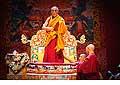 12655 - Photo: Tenzin Gyatso, le dalaï-lama, le plus haut chef spirituel du Tibet à Lausanne en Suisse