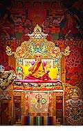 12658 - Photo: Tenzin Gyatso, le dalaï-lama, le plus haut chef spirituel du Tibet à Lausanne en Suisse