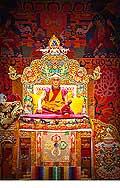 12659 - Photo: Tenzin Gyatso, le dalaï-lama, le plus haut chef spirituel du Tibet à Lausanne en Suisse