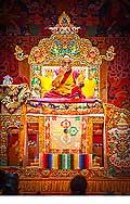 12660 - Photo: Tenzin Gyatso, le dalaï-lama, le plus haut chef spirituel du Tibet à Lausanne en Suisse