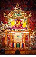 12661 - Photo: Tenzin Gyatso, le dalaï-lama, le plus haut chef spirituel du Tibet à Lausanne en Suisse