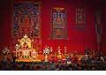 12664 - Photo: Tenzin Gyatso, le dalaï-lama, le plus haut chef spirituel du Tibet à Lausanne en Suisse