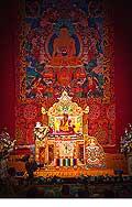 12666 - Photo: Tenzin Gyatso, le dalaï-lama, le plus haut chef spirituel du Tibet à Lausanne en Suisse