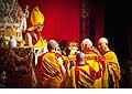 12668 - Photo: Tenzin Gyatso, le dalaï-lama, le plus haut chef spirituel du Tibet à Lausanne en Suisse