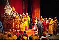 12669 - Photo: Tenzin Gyatso, le dalaï-lama, le plus haut chef spirituel du Tibet à Lausanne en Suisse