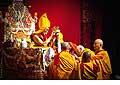 12670 - Photo: Tenzin Gyatso, le dalaï-lama, le plus haut chef spirituel du Tibet à Lausanne en Suisse