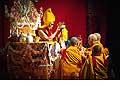 12671 - Photo: Tenzin Gyatso, le dalaï-lama, le plus haut chef spirituel du Tibet à Lausanne en Suisse
