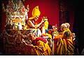 12672 - Photo: Tenzin Gyatso, le dalaï-lama, le plus haut chef spirituel du Tibet à Lausanne en Suisse