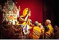 12673 - Photo: Tenzin Gyatso, le dalaï-lama, le plus haut chef spirituel du Tibet à Lausanne en Suisse