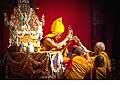 12674 - Photo: Tenzin Gyatso, le dalaï-lama, le plus haut chef spirituel du Tibet à Lausanne en Suisse