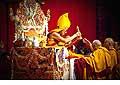 12675 - Photo: Tenzin Gyatso, le dalaï-lama, le plus haut chef spirituel du Tibet à Lausanne en Suisse