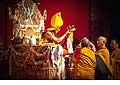 12676 - Photo: Tenzin Gyatso, le dalaï-lama, le plus haut chef spirituel du Tibet à Lausanne en Suisse