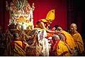 12677 - Photo: Tenzin Gyatso, le dalaï-lama, le plus haut chef spirituel du Tibet à Lausanne en Suisse