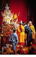 12679 - Photo: Tenzin Gyatso, le dalaï-lama, le plus haut chef spirituel du Tibet à Lausanne en Suisse