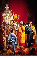 12680 - Photo: Tenzin Gyatso, le dalaï-lama, le plus haut chef spirituel du Tibet à Lausanne en Suisse