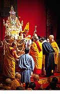 12681 - Photo: Tenzin Gyatso, le dalaï-lama, le plus haut chef spirituel du Tibet à Lausanne en Suisse