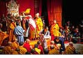 12683 - Photo: Tenzin Gyatso, le dalaï-lama, le plus haut chef spirituel du Tibet à Lausanne en Suisse
