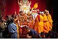 12684 - Photo: Tenzin Gyatso, le dalaï-lama, le plus haut chef spirituel du Tibet à Lausanne en Suisse