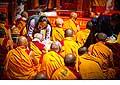 12687 - Photo: Tenzin Gyatso, le dalaï-lama, le plus haut chef spirituel du Tibet à Lausanne en Suisse