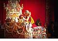 12692 - Photo: Tenzin Gyatso, le dalaï-lama, le plus haut chef spirituel du Tibet à Lausanne en Suisse