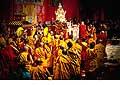 12696 - Photo: Tenzin Gyatso, le dalaï-lama, le plus haut chef spirituel du Tibet à Lausanne en Suisse