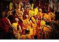 12697 - Photo: Tenzin Gyatso, le dalaï-lama, le plus haut chef spirituel du Tibet à Lausanne en Suisse
