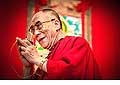 12708 - Photo: Tenzin Gyatso, le dalaï-lama, le plus haut chef spirituel du Tibet à Lausanne en Suisse