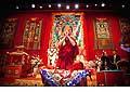 12713 - Photo: Tenzin Gyatso, le dalaï-lama, le plus haut chef spirituel du Tibet à Lausanne en Suisse