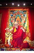 12714 - Photo: Tenzin Gyatso, le dalaï-lama, le plus haut chef spirituel du Tibet à Lausanne en Suisse