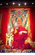 12715 - Photo: Tenzin Gyatso, le dalaï-lama, le plus haut chef spirituel du Tibet à Lausanne en Suisse